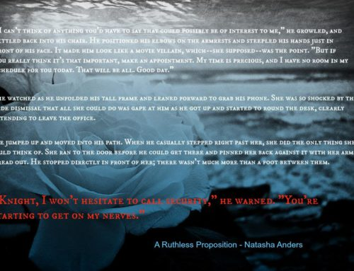 A Ruthless Proposition – Teaser #2